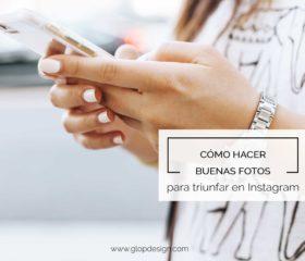 Cómo hacer buenas fotos para Instagram | GlopDesign