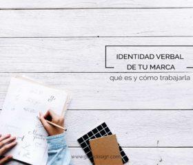 Identidad corporativa: la importancia de la identidad verbal de tu marca