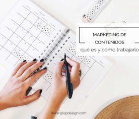 Marketing de contenidos: qué es y cómo trabajarlo